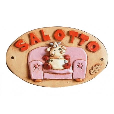 Targhetta Alice Salotto