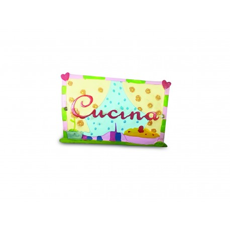 Targhetta Cucina Classic Collection