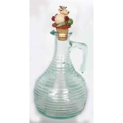 Bottiglia vetro rigato Olio d'Oliva Alice