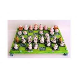 scacchi mucche/pecore con base (completa)