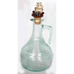 Bottiglie vetro rigato Aceto Alice