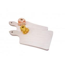 tagliere in legno con porta stuzzichini da denti formaggio