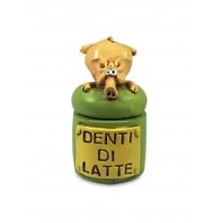 """Scatoline """"Denti da Latte"""" Maiale"""