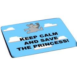 KEEP CALM AND SAVE THE PRINCESS